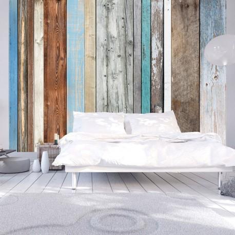 Photo Wallpaper-Colors Arranged