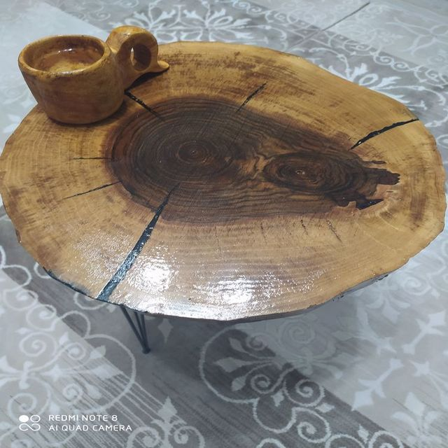 WOODEN COFFEE TABLE 2