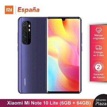 Купить Xiaomi Mi Note 10 Lite (64 Гб ROM, 6 ГБ RAM, Snapdragon™730G, Android, Nuevo, Móvil) [telefono Versión Global para España] note