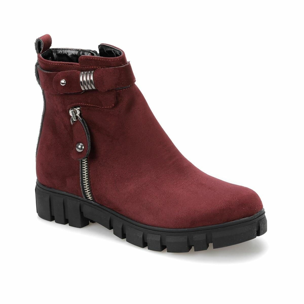 FLO AKSIN31Z Burgundy Women 'S Boots BUTIGO