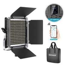 Neewer светодиодный светильник для видеосъемки двухцветный с