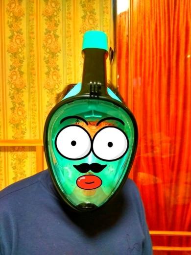Máscaras de mergulho Treinamento Treinamento Máscara
