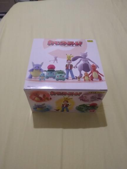 Pokemon Scale World Kanto Region Set pikachu Charmander Venusaur Squirtle Mewtwo anime action & toy figures model toys photo review