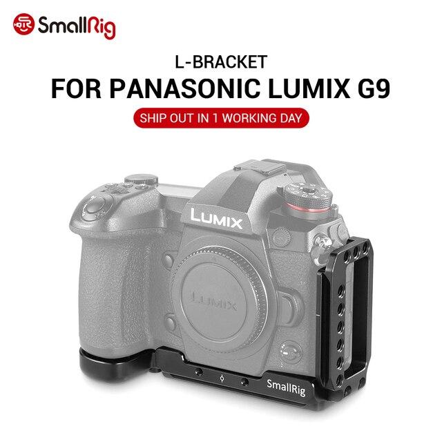SmallRig G9 L BracketสำหรับPanasonic Lumix G9 กล้องLจานด่วนสำหรับขาตั้งกล้องMonopodsแนบ 2191
