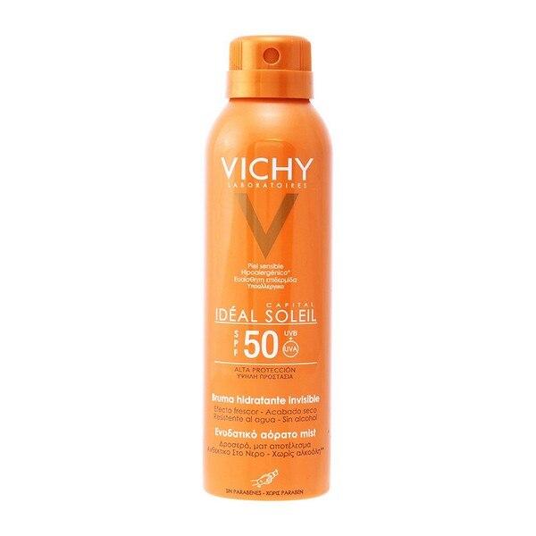 Sonnenschutz Spray Hauptstadt Soleil Vichy Spf 50 (200 ml)