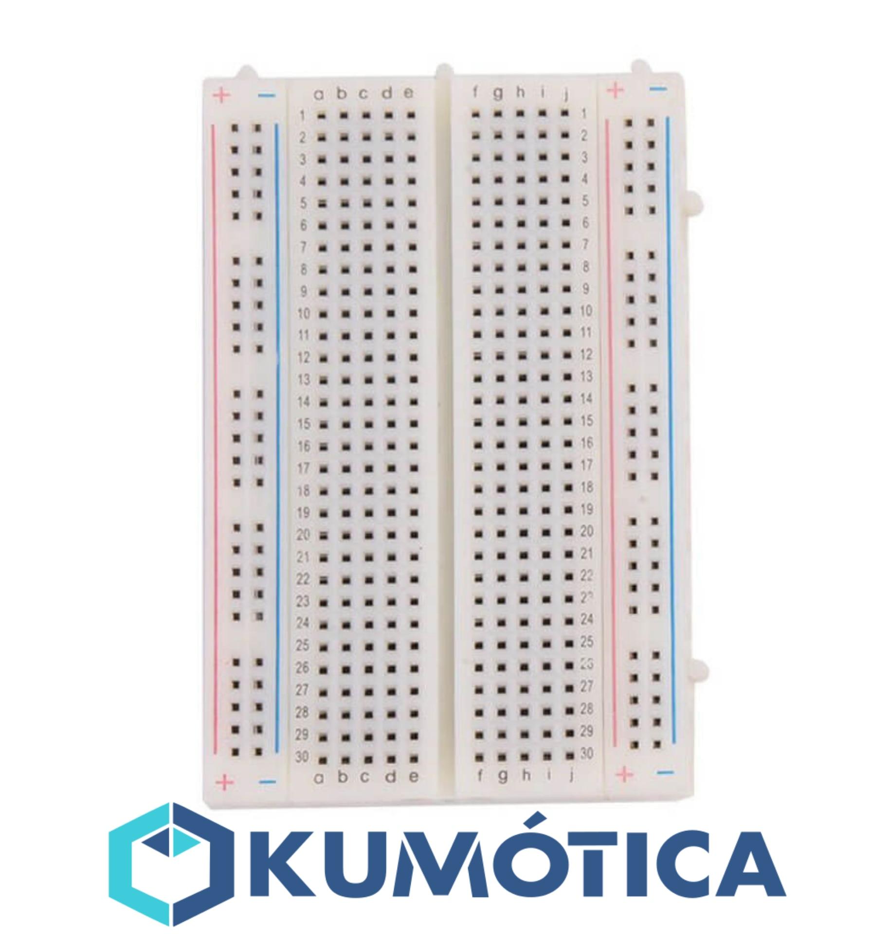 Breadboard Breadboard 400 Pin, Connection Board For Arduino Projects/Rasperri Pi