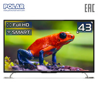 LED Television POLAR P43L32T2CSM Consumer Electronics Home Audio Video Equipments Smart TV 4049InchTv