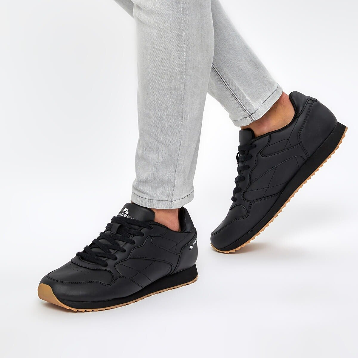 FLO RAFAEL 9PR Black Men 'S Sneaker Shoes LUMBERJACK