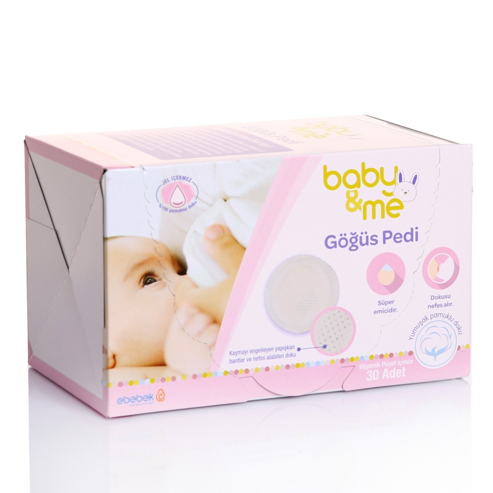 Ebebek Baby&me Mother Nursing Pad 30 Pcs