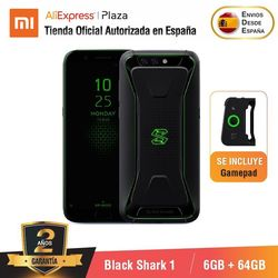 [Versión Global para España] Xiaomi Black Shark 1 (Memoria interna de 64 GB, 6GB de RAM, 4,000 mAh, 20MP front camera)