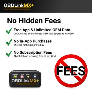 Image 2 - OBDLink MX + OBD2 スキャナー診断スキャンツールのための iphone 、アプリ、アンドロイド、 Kindle の火災や Windows デバイス