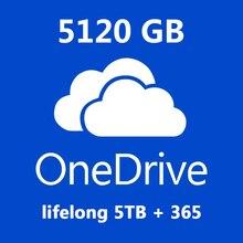 Account Cloud-Storage Upgrade Onedrive Lifetime 5120GB 365 5TB Fast-Capacity All-Language