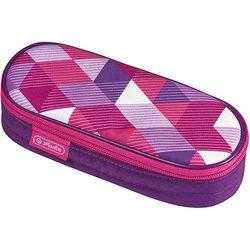 Cassa di matita-sacchetto cosmetico Caso di Polina Rosa Cubetti di MTpromo