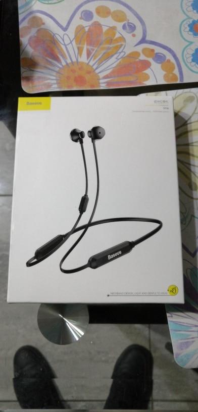 Baseus S11A Bluetooth Earphone Headphone Wireless Headset Neckband Sport Earbuds auriculares For iPhone Xiaomi Samsung With Mic Bluetooth Earphones & Headphones     - AliExpress