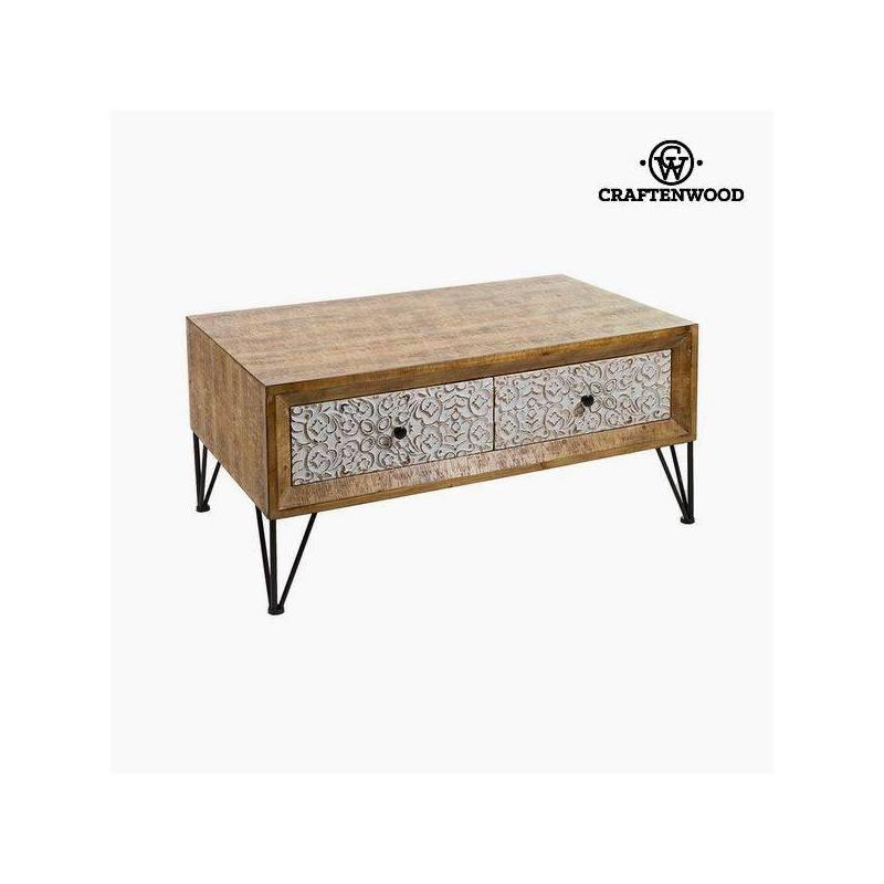 Coffee Table Fir Mdf (101x60x48 Cm) By Craftenwood