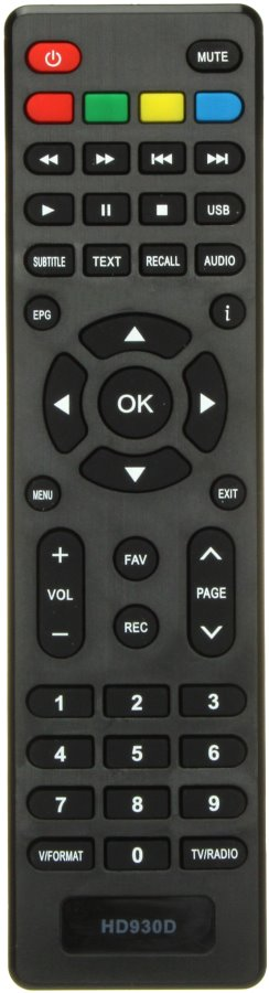 Remote Control For Receiver Selenga T70 HD 930 DVB-T2 HD930D T70D