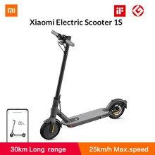 Xiaomi – Trottinette électrique intelligente MIJIA 1S, pour adulte,petite taille, pliable, hoverboard, planche à roulettes,