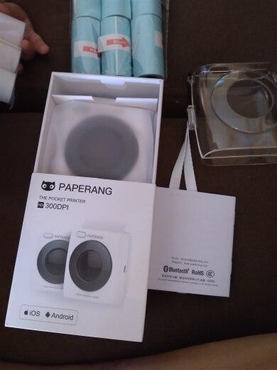 PAPERANG P2 Pocket Portable Bluetooth Photo Printer Mini 300 DPI Thermal Label Sticker Printer For Mobile Phone P1 200 DPI|Printers|   - AliExpress