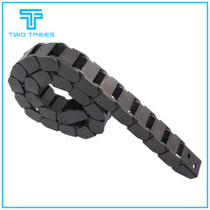 Transmission Chains 10 x 15mm L550mm Cable Drag Chain Wire Carrier with end connectors for CNC Router Machine Tools 10*15mm
