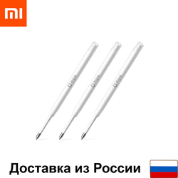 Stylo tige Xiaomi MiJia Xiaomi stylo métal-rollerball refil (3 pièces)
