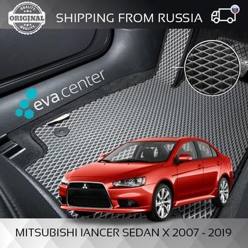 цена на Car Mats Eva for Mitsubishi Lancer sedan 2007 - 2019 set of 4x mats and jumper/Eva mats on auto