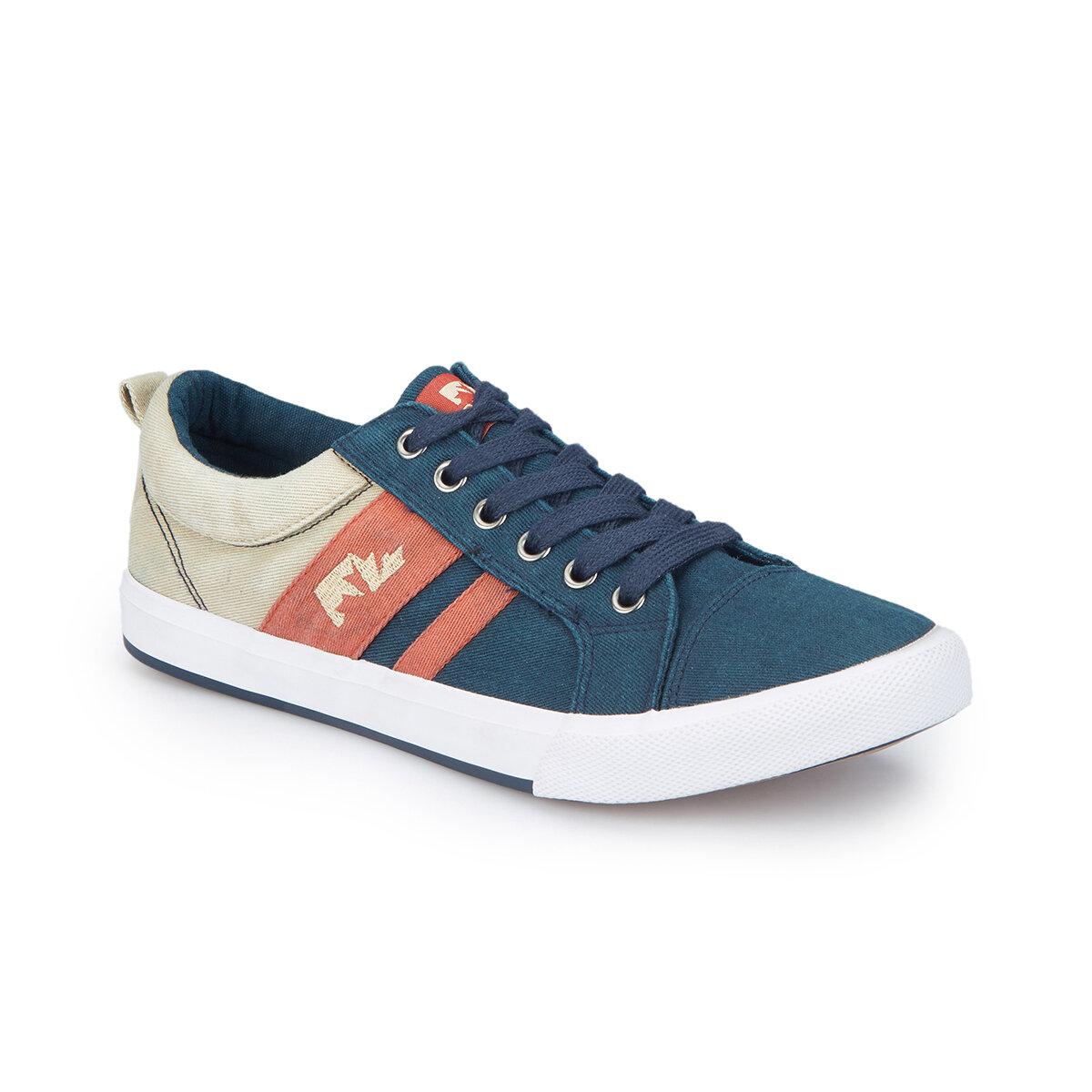 FLO GALE Navy Blue Men 'S Sneaker Shoes LUMBERJACK