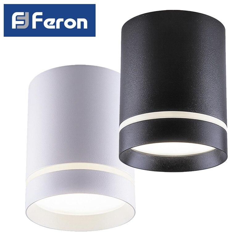 LED Downlight spot Feron AL535 patch 25W 4000K White Black