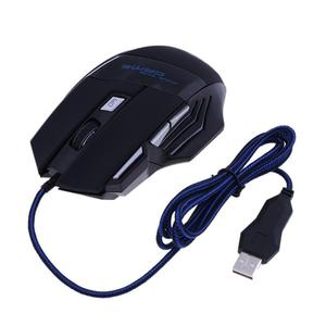 Image 4 - USB Wired Gaming Mouse 7 Buttons 5500 DPI Adjustable LED Backlit Optical Computer Mouse Gamer Mice For PC Laptop Notebook