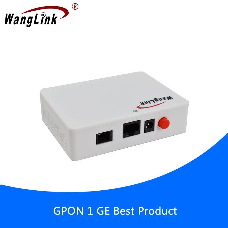 Wanglink 6 шт. OLT FTTH 1 порт 1,25 г GPON ONU ONT Ethernet оптоволоконный пользовательский терминал оборудование совместимо с zte fiberhome