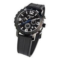 Relógio masculino bogey bsfs005bwbk (44mm)