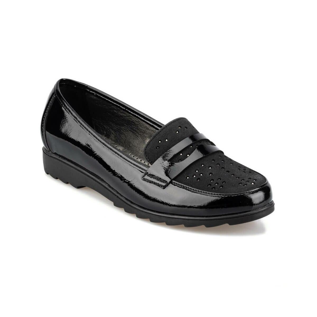 FLO 92.151007RZ Black Women Loafer Shoes Polaris