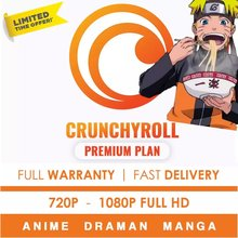 Crunchyroll Premium✅Anime + Drama +✅Warranty 1 y ear + fast delivery✅Apoyo 24x7