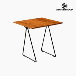 Stolik orzech Mdf (55x55x55 cm) firmy Craftenwood na