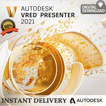 Autodesk VRED Presenter 2021 Lifetime Activation !