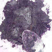 芒果椰香紫薯球的做法图解3