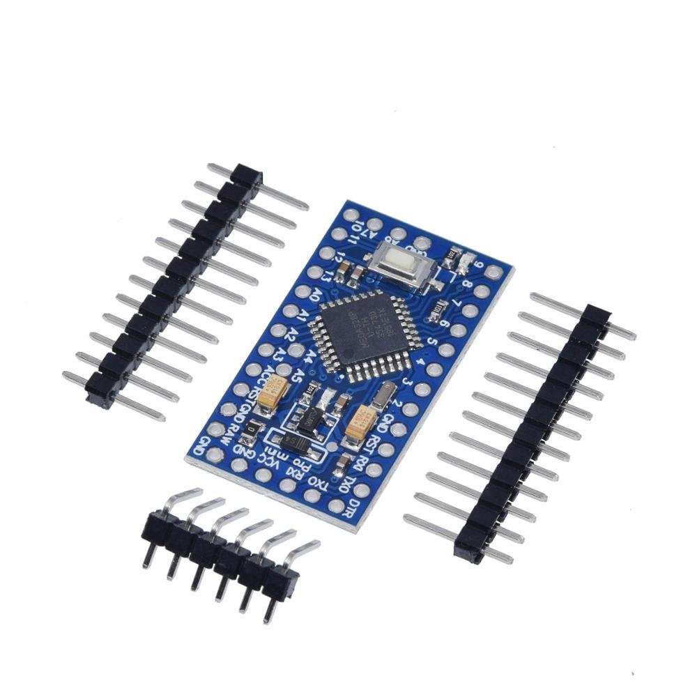 Pro Mini 328 Mini 3,3 V/8 M 5V/16M ATMEGA328 ATMEGA328P-AU 3,3 V/8MHz 5V/16MHZ для Arduino
