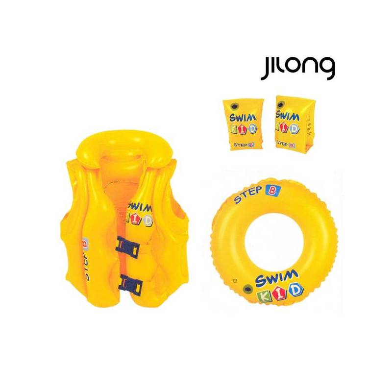 Set Learning Swimming Jilong JL046095-1NPF-P22 (3 Pcs) Yellow