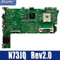 Amazonon For Asus n73jq n73jf 마더 보드 60-nzxmb1100-e18 메인 보드 8 메모리 rev2.0 메인 보드 100% 테스트 됨 ok