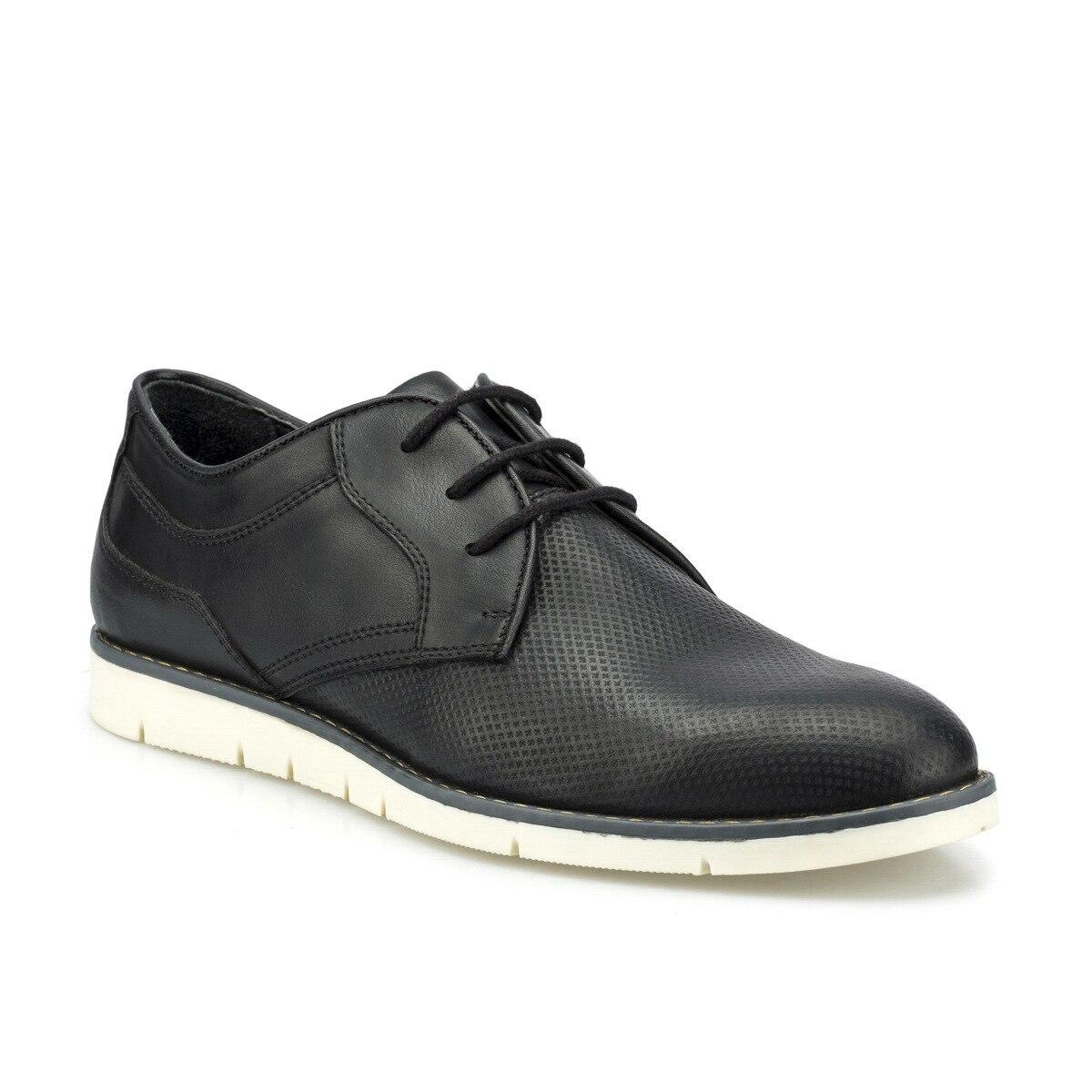 FLO 160019.M Black Men Dress Shoes Polaris