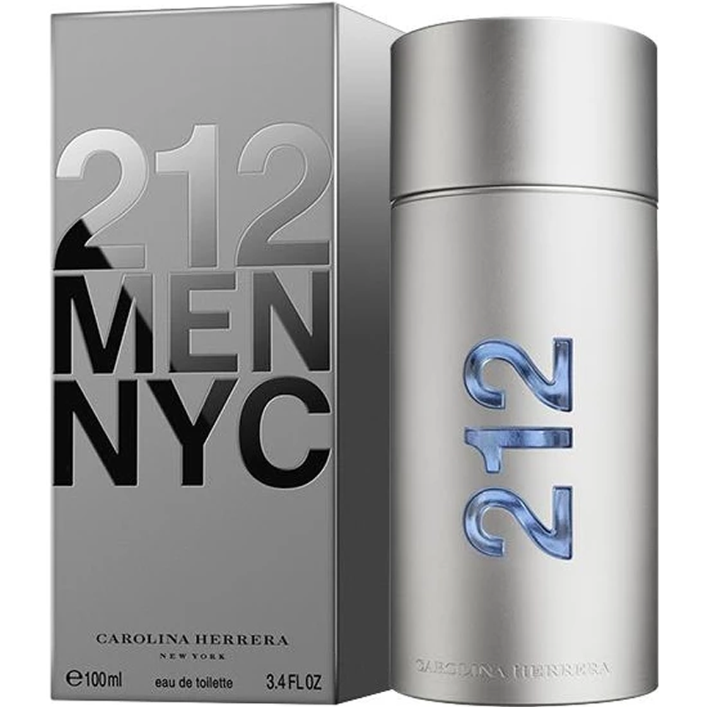 Carolina- Herrera 212 Men NYC Edt 100ml Male Perfume  Men Perfume Carolina- Perfume