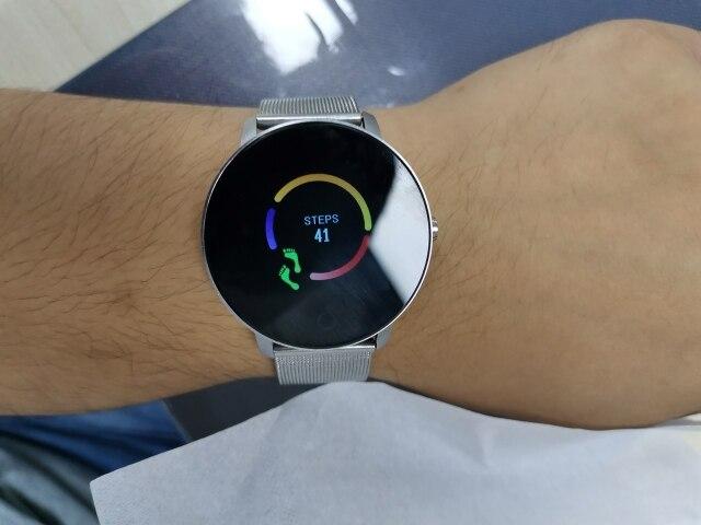 Torntisc Q5P Heart Rate Blood Pressure Oxygen Smart Watch Men and Women IP67 Waterproof  Sports Path Weather Forecast SmartWatch Smart Watches     - AliExpress