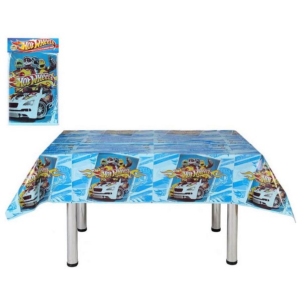 Tablecloth For Children's Parties Hot Wheels 116039 (180 X 120 Cm)