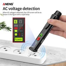 VD401A Dynamic Digital Display Non-Contact AC Voltage Detector Induction Electric Pen AC 12V~1000V Tester fast arrival hioki 3120 20 induction electric pen tester
