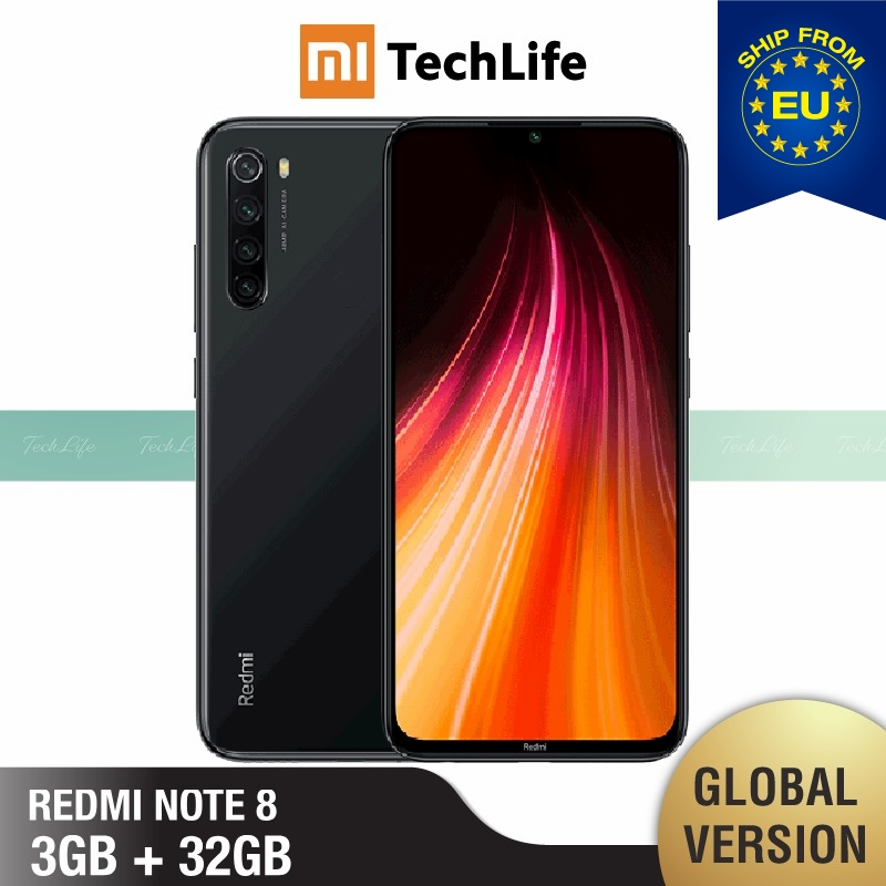 Global Version Xiaomi Redmi Note 8 32GB ROM 3GB RAM (Brand New / Sealed) Note 8, Note8