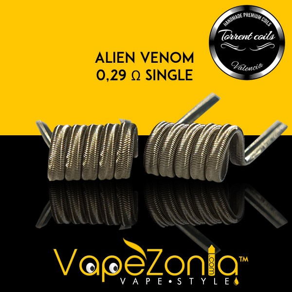 TORRENT COILS - ALIEN VENOM 0,29 Ohm SINGLE