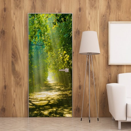 Photo Wallpaper For Door-Sunny Avenue