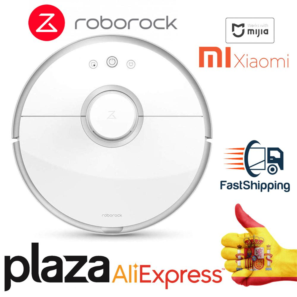 [SQUARE From Madrid Spain] 2020 <font><b>Roborock</b></font> <font><b>S50</b></font> vacuum <font><b>2</b></font> my S55 Robot WIFI APP Control drag Mop and sweep image