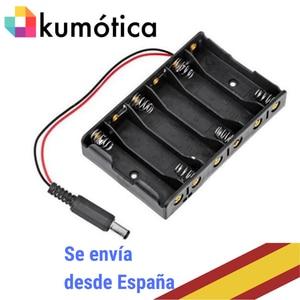 База baterias Батарейный держатель 6 AA с разъемом для Arduino проектов/микробит