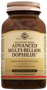 Solgar Advanced Multi-Billion Dophilus 60 Capsules
