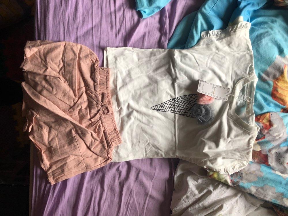 Conjuntos de roupas Mangas Melario Algodão